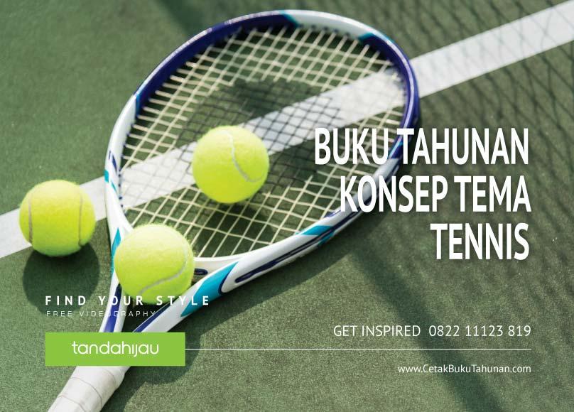 Buku Tahunan Tema Tennis